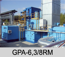 GAS COMPRESSOR EQUIPMENT GPA-6.3/8RM