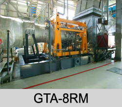 GAS TURBINE POWER GENERATING PLANTS GTA-8RM