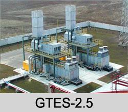 GAS TURBINE POWER GENERATING PLANTS GTES-2.5