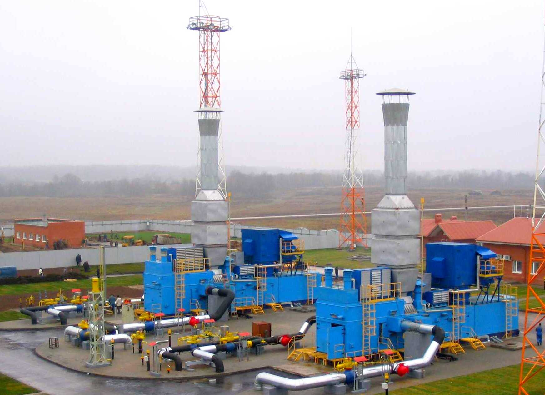 Gas compressor equipment GPA-4RM Krasnoznamenskoe