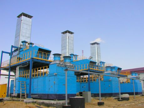 GAS TURBINE POWER GENERATING PLANTS GTES-2.5 KASIMOVSKOE